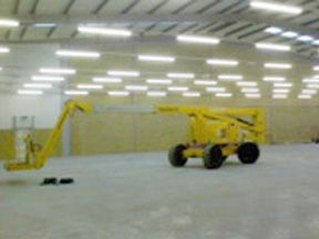 Yellow-Truck-inside-domestic-building